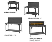 MOBILE AND STATIONARY WORKBENCHES